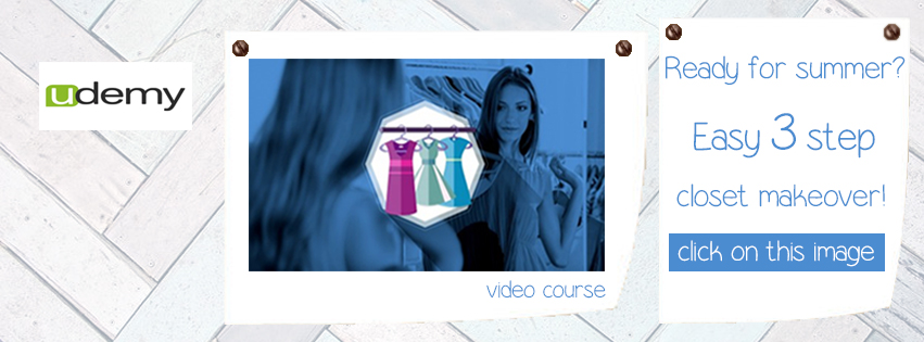 3 easy steps clean out your closet find the real you is live now on Udemy